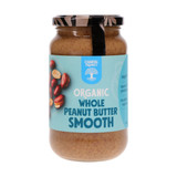 Organic Whole Peanut Butter - Smooth