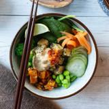 Chilli Satay Tofu Bowl
