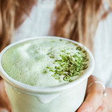 Creamy Matcha Latté With A Collagen Boost