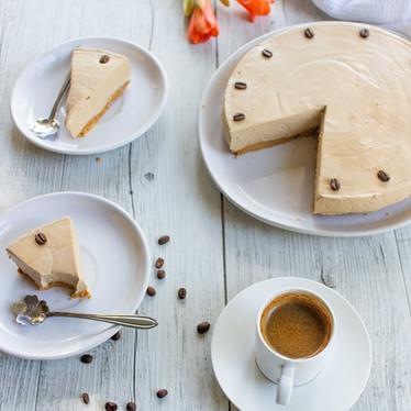 Keto Coffee Cheesecake
