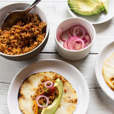 Vegan Keto Tacos