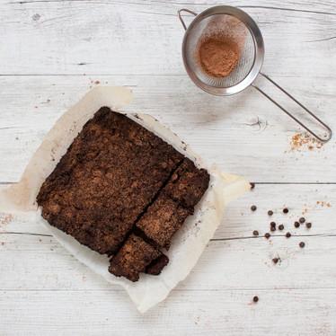 Flourless Fudgy Kumara Brownies