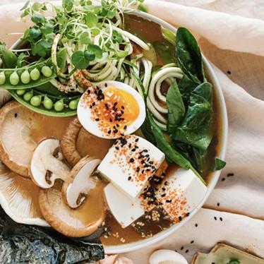 Mushroom & Tofu Ramen