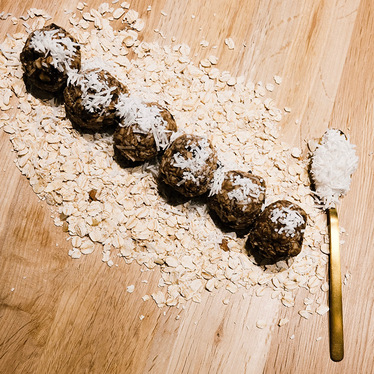 Chocolate Chunk Vegan Protein Balls