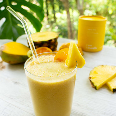 Tropical Mimosa Smoothie For A Happy Gut