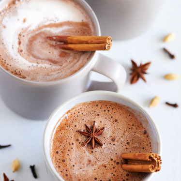 Spiced Hot Chocolate with Superpowers Recipe