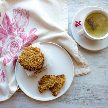 Refined Sugar Free Anzac Biscuits