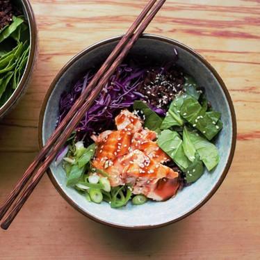 Salmon Donburi Bowl