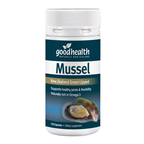 Mussel 300mg - New Zealand Green Lipped