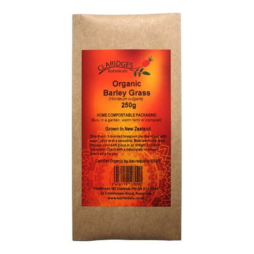 Barley Grass Powder - certified organic