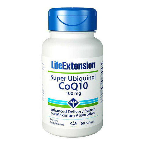 Super Ubiquinol CoQ10 100mg