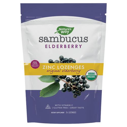 Sambucus Organic Zinc Lozenges