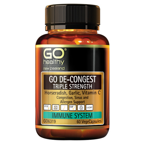 Go De-Congest - Triple Strength