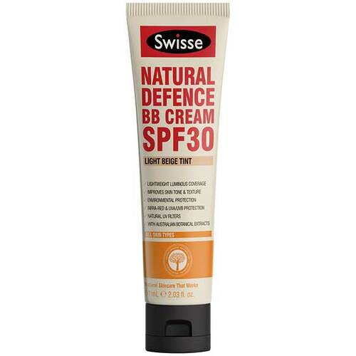 Natural Defence BB Cream SPF30 Light Beige