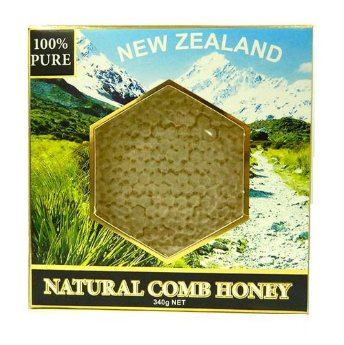 New Zealand Natural Comb Kamahi Honey