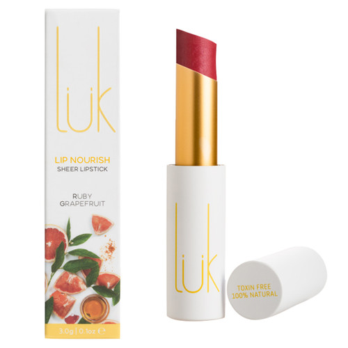 Lip Nourish Sheer Lipstick - Ruby Grapefruit
