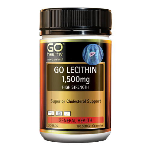Go Lecithin 1500 - Cholesterol Support