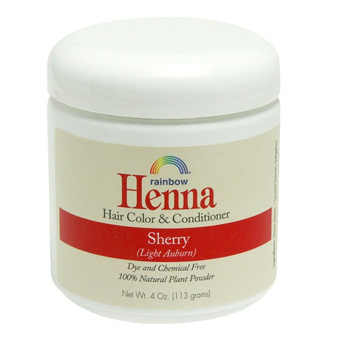 Henna Sherry - Light Auburn