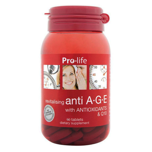 Anti A.G.E with Antioxidants & Q10