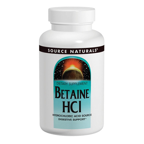 Betaine HCL - Hydrochloric Acid