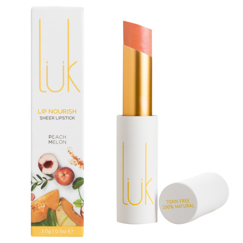 Lip Nourish Sheer Lipstick - Peach Melon