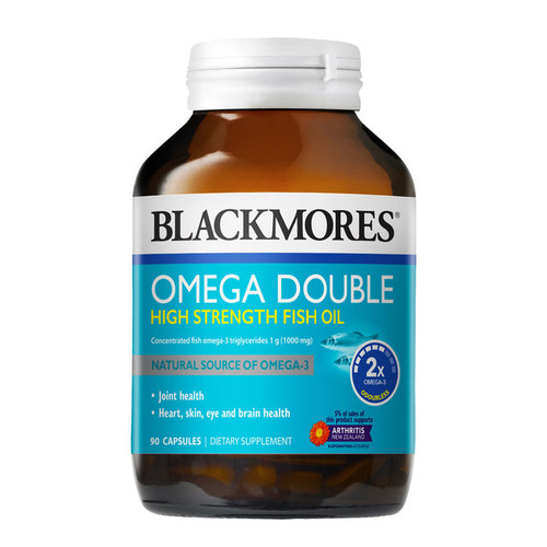 Omega Double High Strength Fish Oil