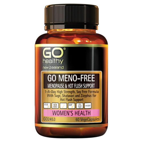 Go Meno-Free - Menopause & Hot Flush Support