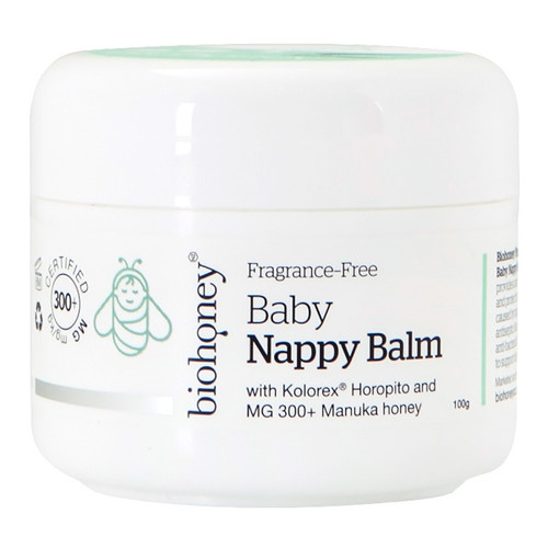 Fragrance Free Baby Nappy Balm