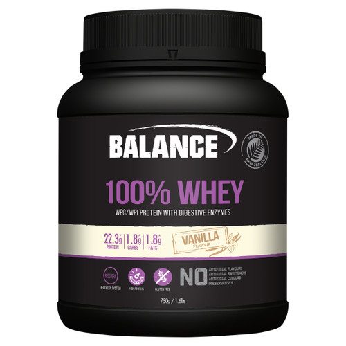 100% Whey Natural Vanilla