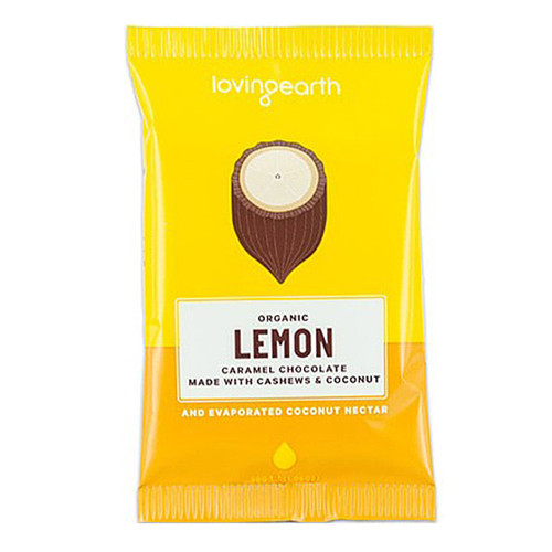Organic Lemon Caramel Chocolate