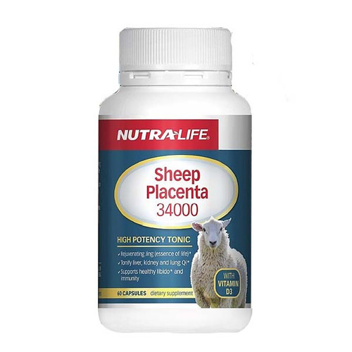 Sheep Placenta 34000 with Vitamin D3