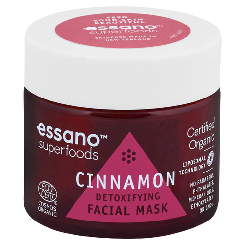 Superfoods Cinnamon Detoxifying Facial Mask