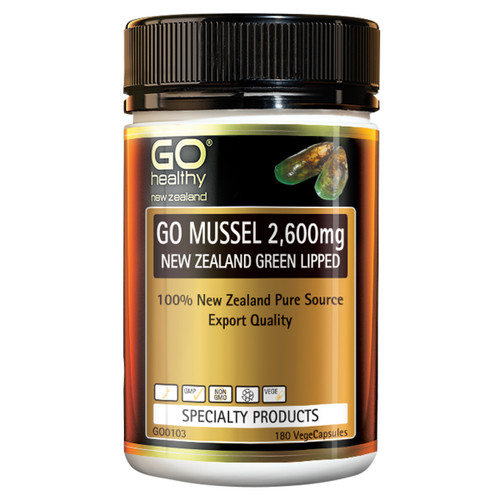 Go Mussel 2,600mg