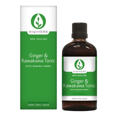 Ginger & Kawakawa Tonic - Kawagin