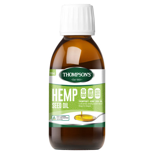 Hemp Seed Oil - 100% Natural