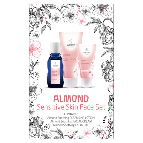 Almond Sensitive Skin Face Set