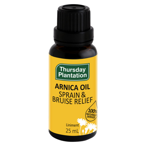 100% Naturally Derived Arnica Oil
