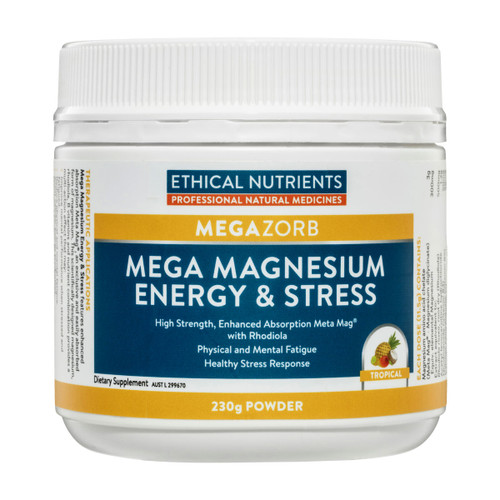 MEGAZORB Mega Magnesium Energy & Stress Tropical