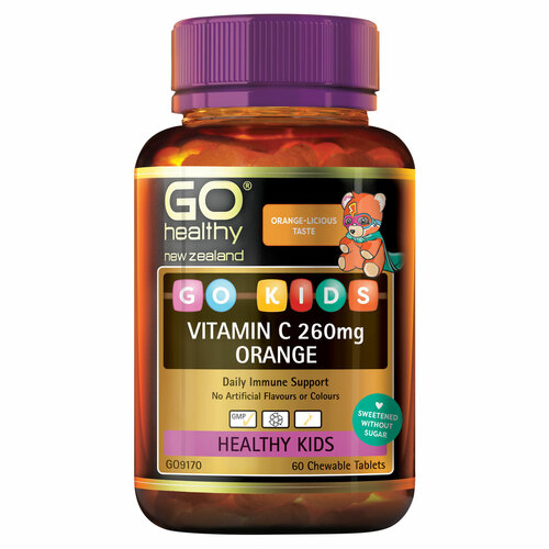 GO Kids Vitamin C Orange