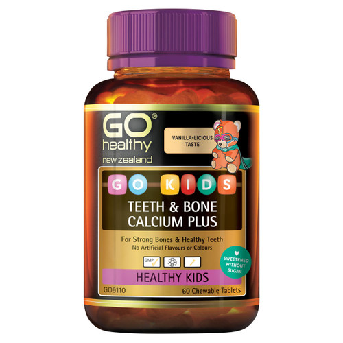 GO Kids Teeth & Bone Calcium Plus