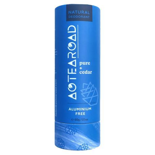 Natural Deodorant Pure + Cedar