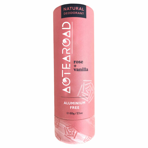 Natural Deodorant Rose + Vanilla