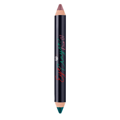 Eye Crayon Duo 01 Teal & Copper