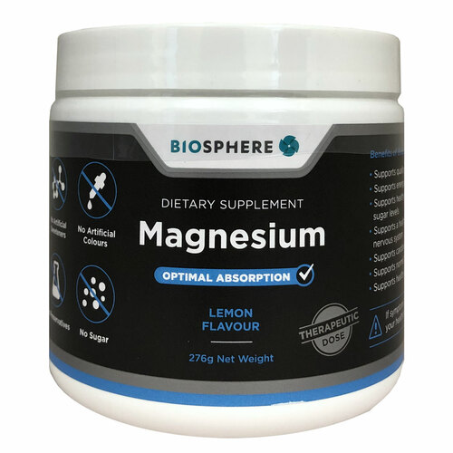 Magnesium Powdered Citrate, Glycinate Chelate & Malate