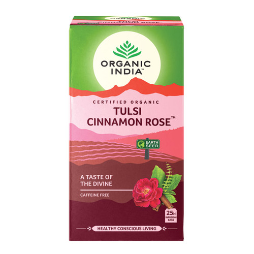 Tulsi Cinnamon Rose Tea