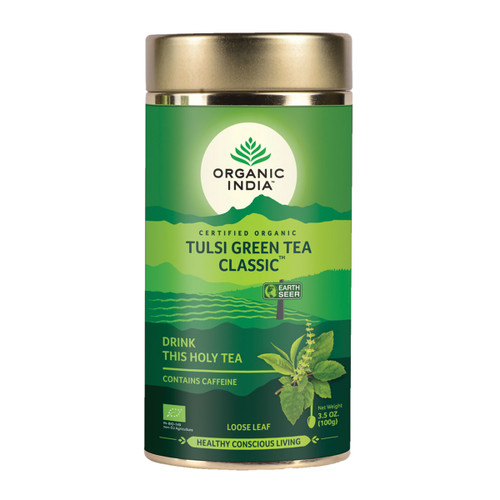 Tulsi Green Tea Classic Loose Leaf