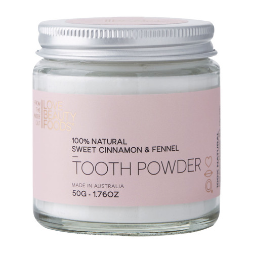 Sweet Cinnamon & Fennel Natural Tooth Powder