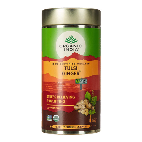 Tulsi Loose Leaf Ginger Tea