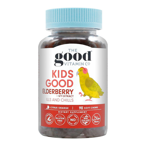 Kids Good Elderberry + Ivy Extract Ills & Chills