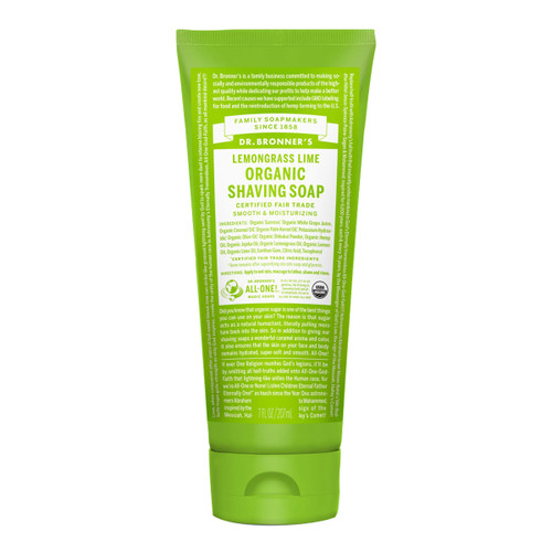 Shaving Soap Lemongrass Lime